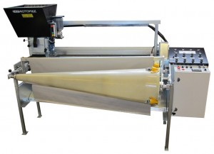 Ercomek - Rotomax Fox Fleshing Machine available thru Illinois Mink Wire Co.