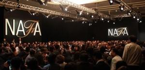 Black NAFA 10 year Anniversary Show held at the 2013 Hong Kong Fur and Fashion Fair.